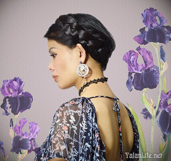 Taipei Art Fashion Summer Dress Bohemian Romanticism 台北生活 艺术时尚 夏日裙装 波希米亚 浪漫主义 Yalan雅岚文艺博客